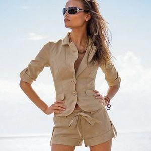 Victoria's Secret Linen Shorts Size 4